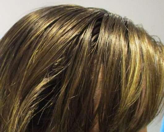 Haare vor der Anwendung - ISANA Trockenshampoo Du bist zauberhaft