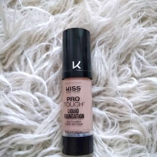 <strong>KISS Professional New York</strong> Pro Touch Liquid Foundation - Farbe: 115 Natural Ivory