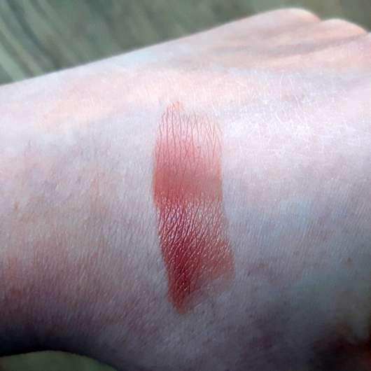 KISS Professional New York Luscious Gel Shine Lipstick, Farbe: 03 Mocha Shake - Swatch