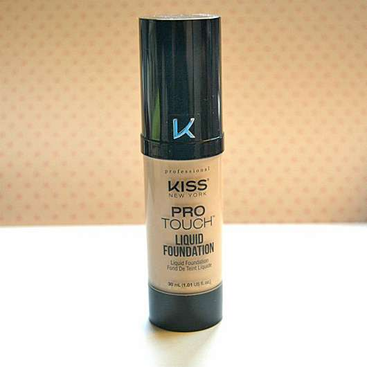 KISS Professional New York Pro Touch Liquid Foundation, Farbe: 135 Nude Beige
