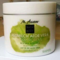 Produktbild zu M. Asam Reismilch Aloe Vera Body Cream
