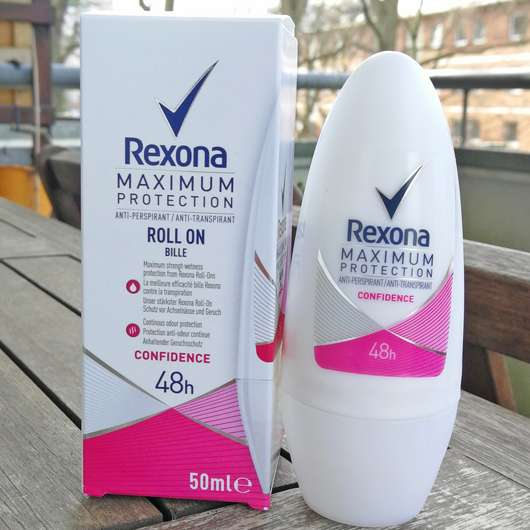 <strong>Rexona</strong> Maximum Protection Confidence Anti-Transpirant Roll-On