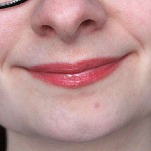 Lippen mit Rival de Loop Young Lollipop Lipgloss, Farbe: 03 sweet toffee