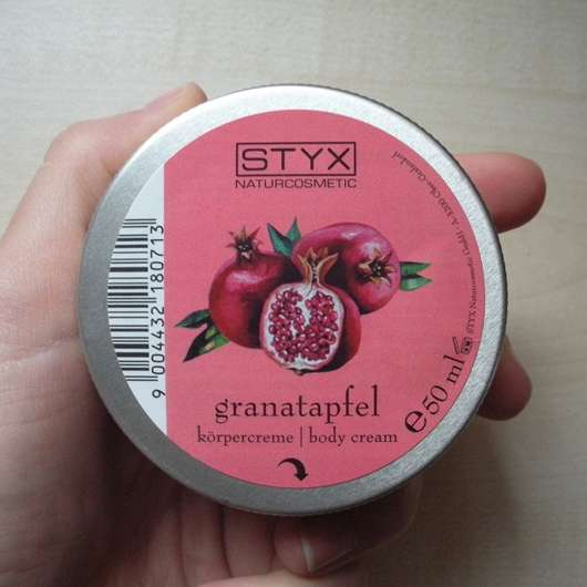 <strong>STYX Naturcosmetic</strong> Granatapfel Körpercreme