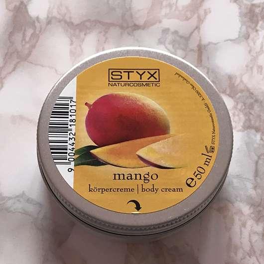 <strong>STYX Naturcosmetic</strong> Mango Körpercreme