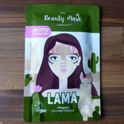 """Produktbild zu The Beauty Mask Company Motiv-Tuchmaske """"Lama"""""""