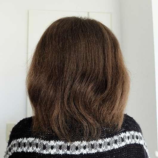 The Body Shop Shea Butter Hair Mask - Haare vor der Anwendung