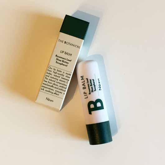 The Botanical Lip Balm