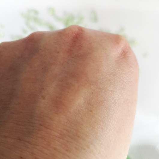 Weleda Skin Food Body Butter - nach dem Einziehen in die Haut