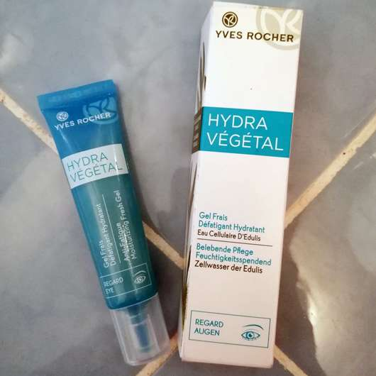 <strong>Yves Rocher Hydra Végétal</strong> Belebende Augenpflege