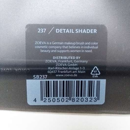 Zoeva 237 Detail Shader