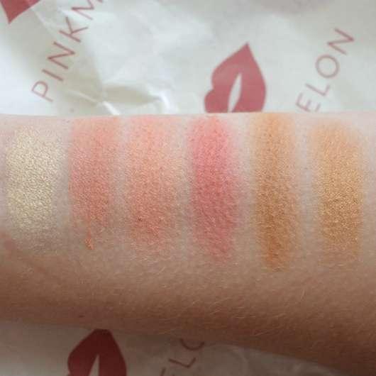 essence hey cheeks blush, bronzer & highlighter palette - Swatches