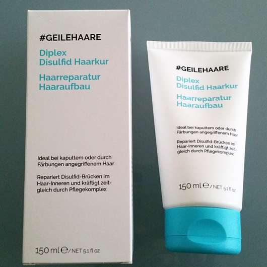 #GEILEHAARE Diplex Disulfid Haarkur Haarreparatur