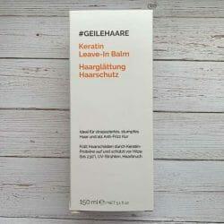 Produktbild zu #GEILEHAARE Keratin Leave-In Balm Haarglättung