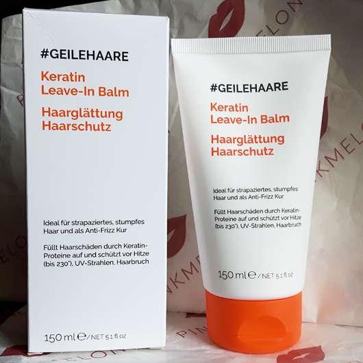 #GEILEHAARE Keratin Leave-In Balm Haarglättung