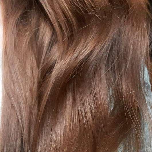 Haare nach dem Test - #GEILEHAARE Keratin Leave-In Balm Haarglättung