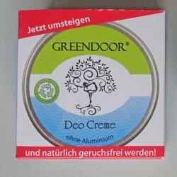 Produktbild zu Greendoor Deo Creme (ohne Aluminium)