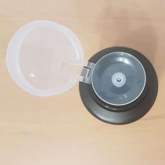 ISANA PROFESSIONAL Nagellackentferner acetonfrei (ohne stechenden Geruch) - Dosieröffnung