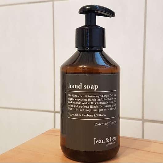 Jean&Len Hand Soap Rosemary & Ginger
