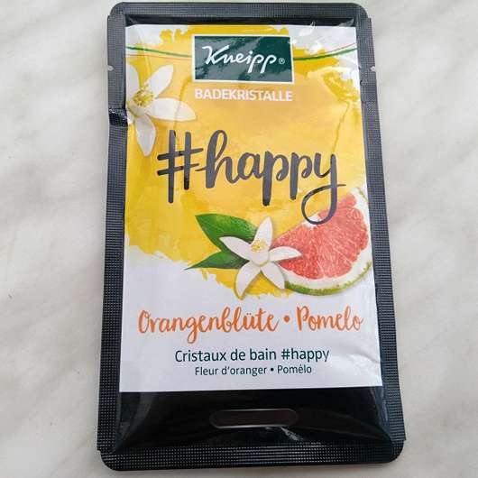 <strong>Kneipp</strong> Badekristalle #happy