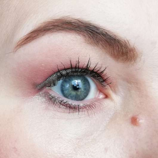 Augenbraue mit Misslyn Chocolate Brow Duo Eyebrow Powder, Farbe: 2 Light Chocolate