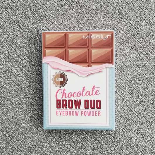 Misslyn Chocolate Brow Duo Eyebrow Powder, Farbe: 2 Light Chocolate