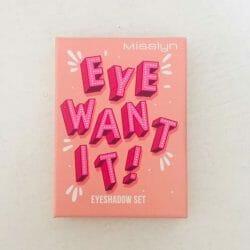 Produktbild zu Misslyn Eye Want It! Eyeshadow Set – Farbe: 56 Leaf Me Alone (LE)