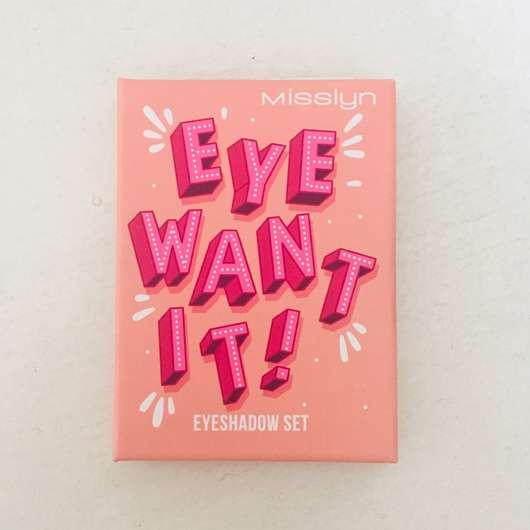 Misslyn Eye Want It! Eyeshadow Set, Farbe: 56 Leaf Me Alone (LE)