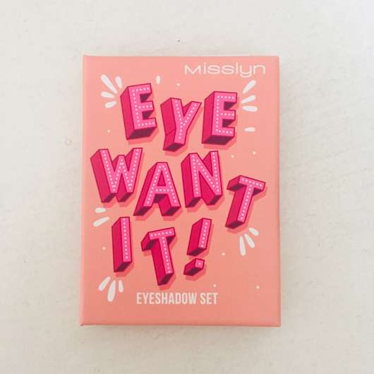 <strong>Misslyn</strong> Eye Want It! Eyeshadow Set - Farbe: 56 Leaf Me Alone (LE)