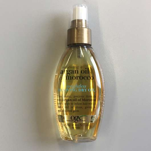 <strong>OGX</strong> renewing + argan oil of morocco weightless reviving dry Oil Spray