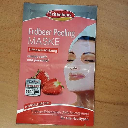 Schaebens Erdbeer Peeling Maske - Sachet