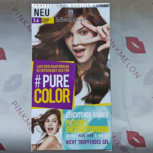 Schwarzkopf #Pure Color Dauerhafte Gel-Haarfarbe, Farbe: 5.6 Schokosucht