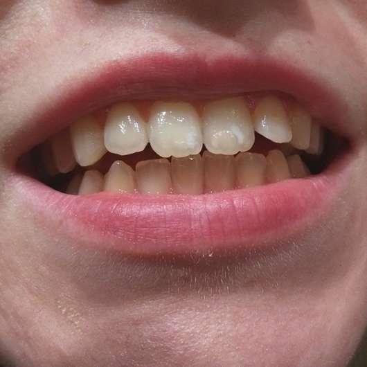 Sensodyne Pro Schmelz Tägliche Zahncreme - Zahnputzergebnis
