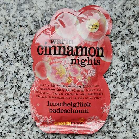 treaclemoon warm cinnamon nights kuschelglück badeschaum (LE)