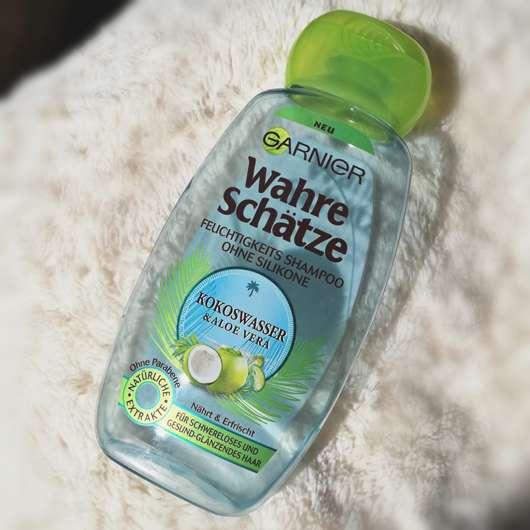 <strong>Garnier Wahre Schätze</strong> Feuchtigkeits Shampoo Kokoswasser & Aloe Vera