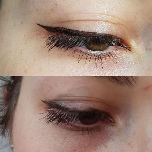 ARDELL Lash Boostier Liquid Eyeliner 2in1, Farbe: Onyx - am Auge aufgetragen