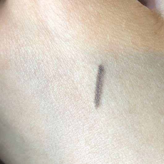 Swatch - essence micro precise eyebrow pencil, Farbe: 03 dark brown