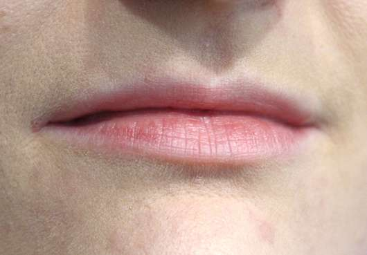 Lippen ohne Produkt