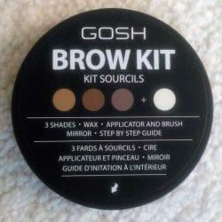 Produktbild zu GOSH COPENHAGEN Brow Kit – Farbe: 001