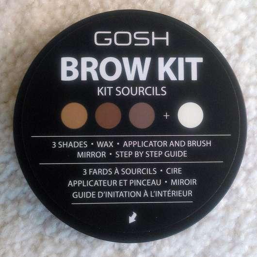 GOSH Brow Kit, Farbe: 001