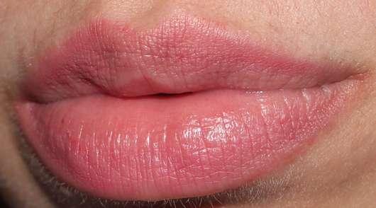 Lippenstiftreste nach einigen Stunden