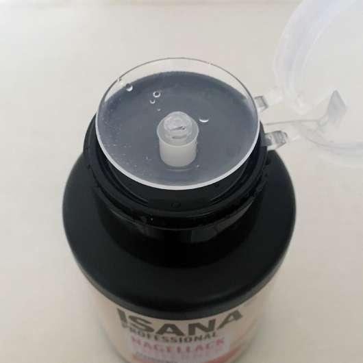 ISANA PROFESSIONAL Nagellackentferner acetonfrei (ohne stechenden Geruch) - Öffnung