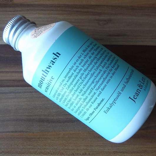 Jean&Len Mouthwash Sensitiv - Flasche