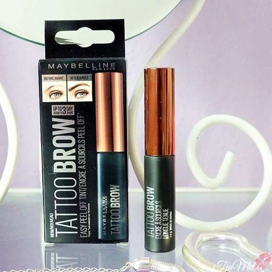 Maybelline Tattoo Brow Easy Peel Off Tint, Farbe: 2 medium brown