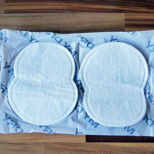 MYDRY Achselpads, Farbe: Weiß - Vorderseite Pads