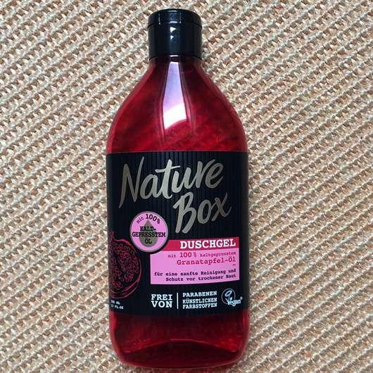 <strong>Nature Box</strong> Granatapfel-Öl Duschgel