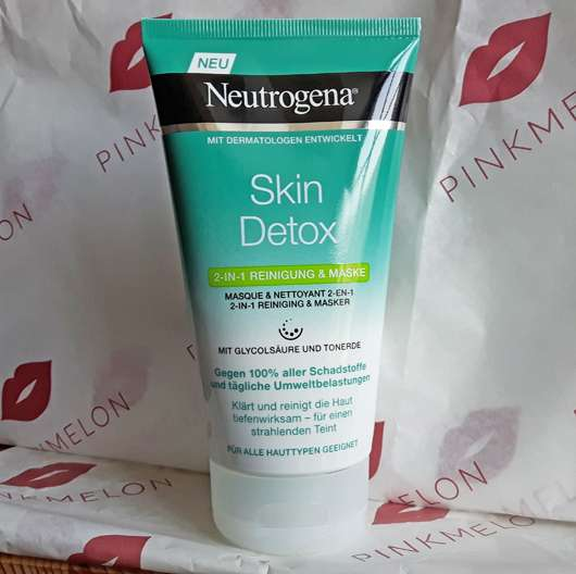 Neutrogena Skin Detox 2-in-1 Reinigung & Maske