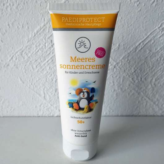 <strong>Paediprotect</strong> Meeressonnencreme LSF 50+