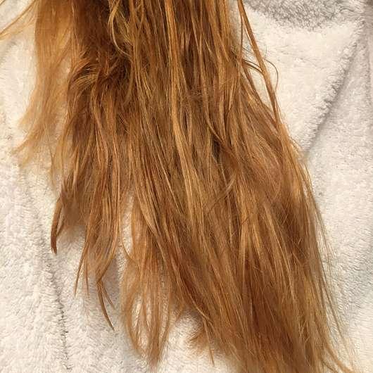PARSA PROFESSIONAL Volume Round Brush 200-2 - nasse Haare vor der Anwendung