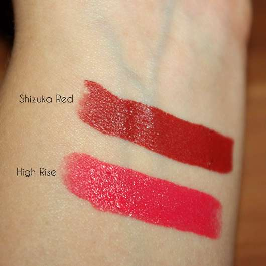 Shiseido VisionAiry Gel Lipstick, Farbe: 225 High Rise - Swatches